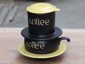 Bộ phin pha cafe 6 màu cao cấp gốm sứ Bát Tràng