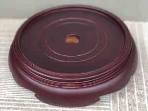 Chân đế gỗ bát hương 2 mặt đường kính 18cm