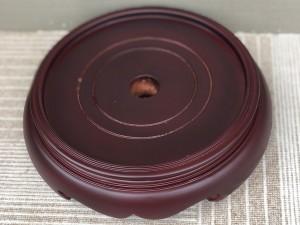 Chân đế gỗ bát hương 2 mặt đường kính 20cm